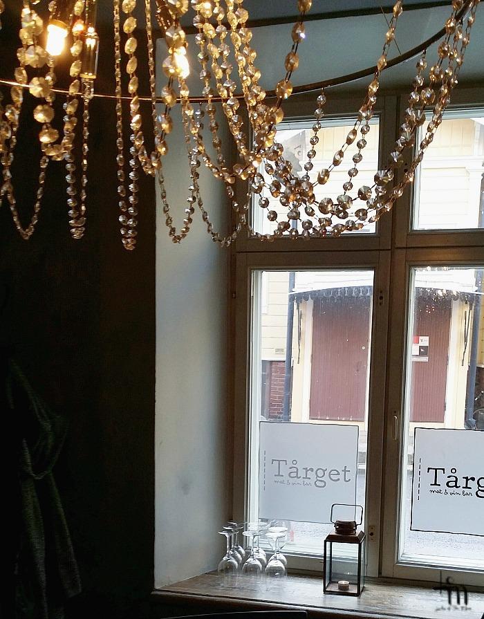 kristallikruunu Tårgetissa