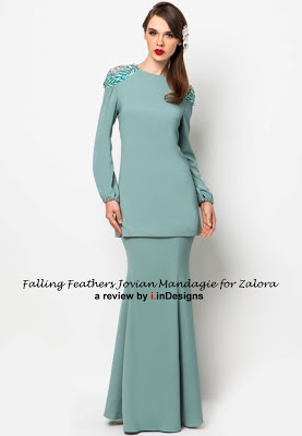 Full collection Falling Feathers for Zalora