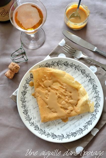 Les crêpes bretonnes, fines et croustillantes