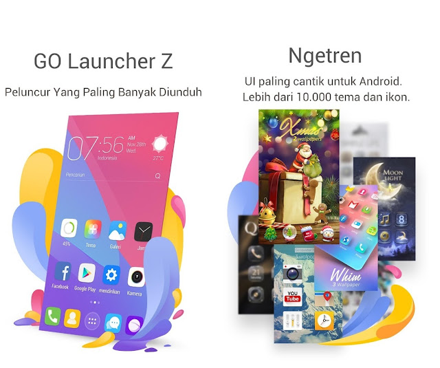 Free Download Go Launcher Z Prime VIP Apk