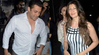Salman Khan caught with his ex-girlfriend Sangeeta Bijlani