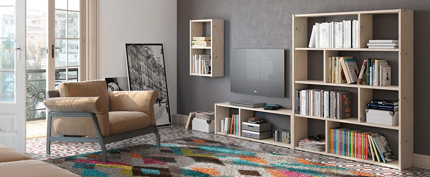 Muebles lufe natural style diariodeco for Muebles lufe estanterias