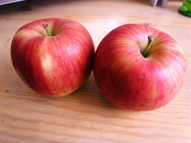 熟成りんごの写真です。