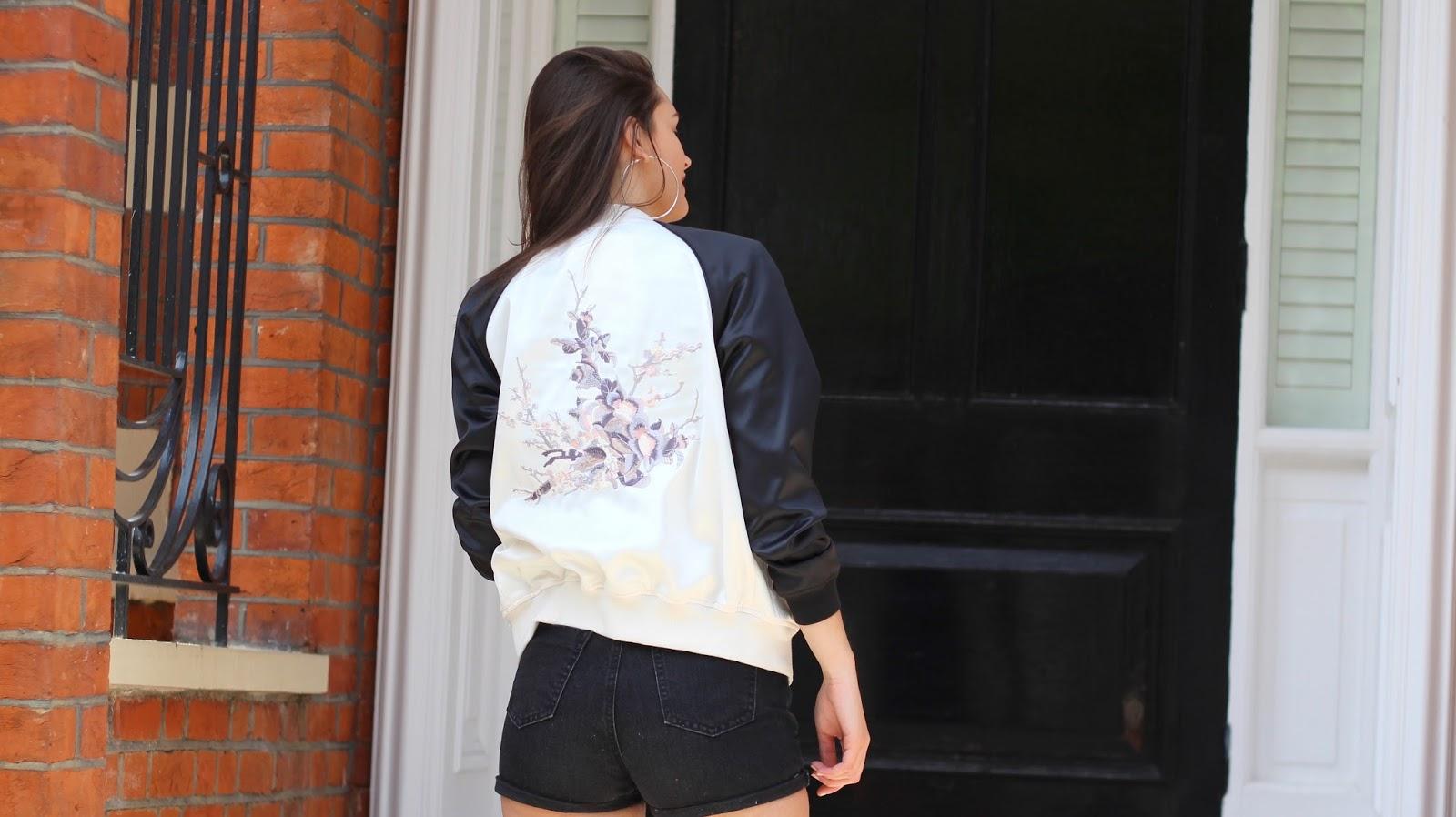 bomber jacket summer style