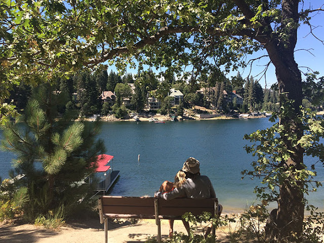 lone pine island, lake arrowhead, relaxing