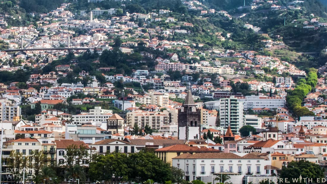Funchal city scape