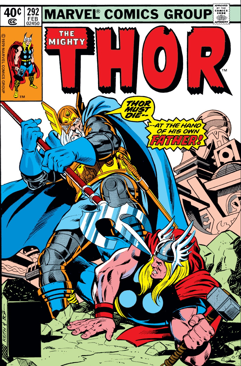 Thor (1966) 292 Page 1