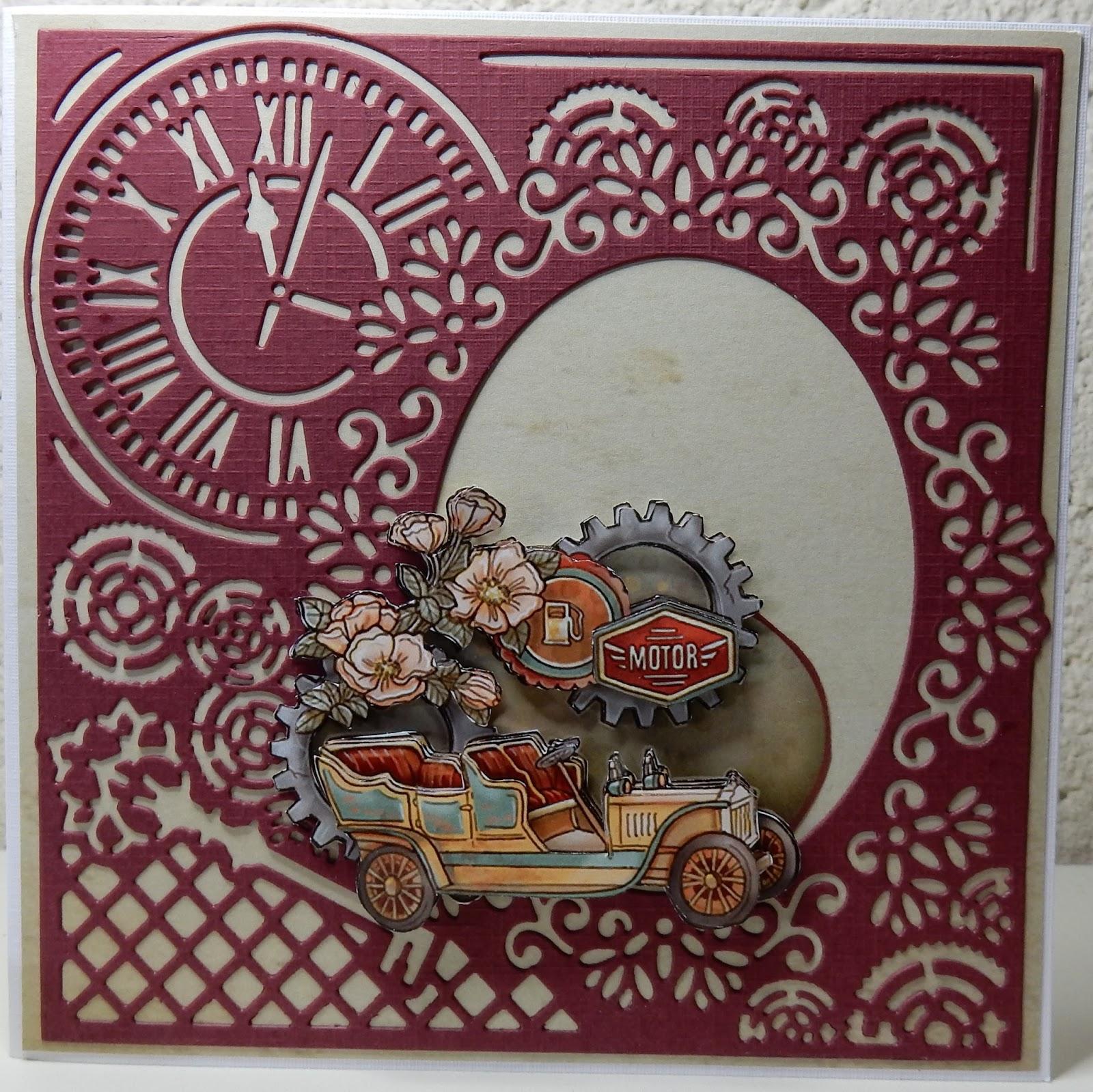 Bekend Hetty's Knutselhokkie!: Vintage Objects van Yvonne Creations #IE64