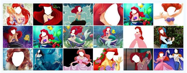 Generador Pon tu cara a la Sirenita (Ariel)