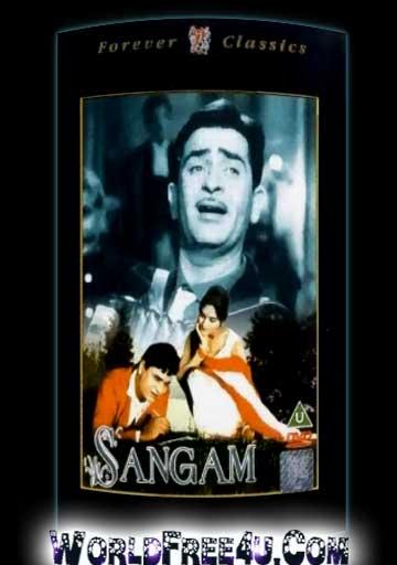 Poster Of Hindi Movie Sangam (1964) Free Download Full New Hindi Movie Watch Online At worldfree4u.com