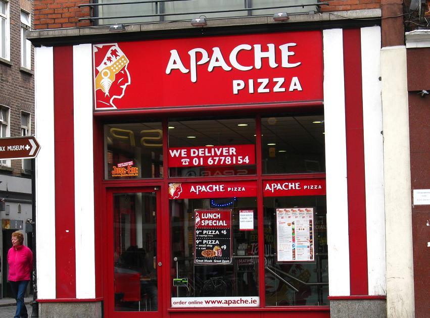 Newspaper Rock Apache Pizza In Ireland