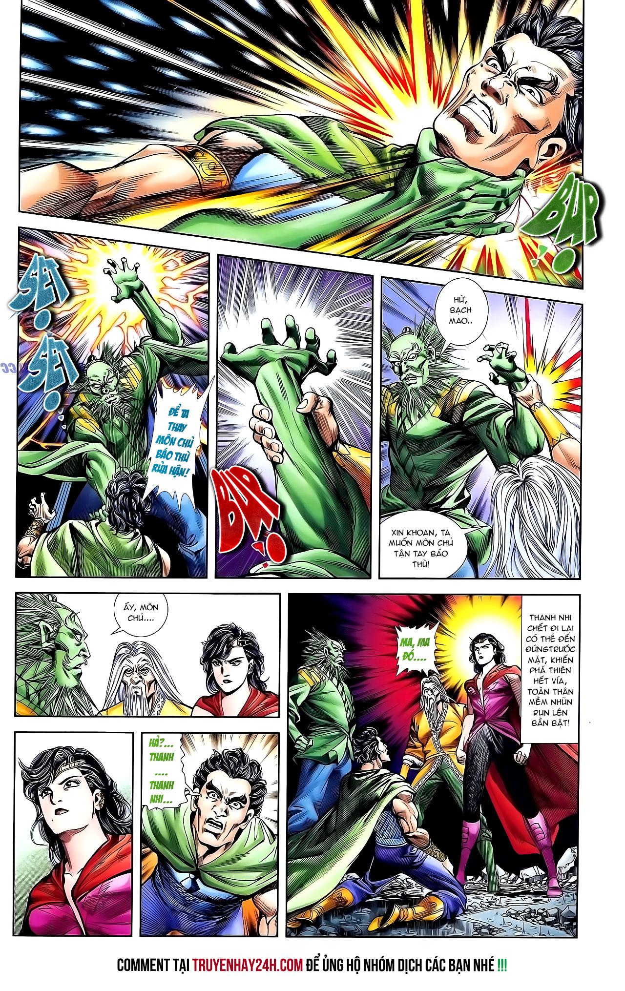 Cơ Phát Khai Chu Bản chapter 131 trang 24