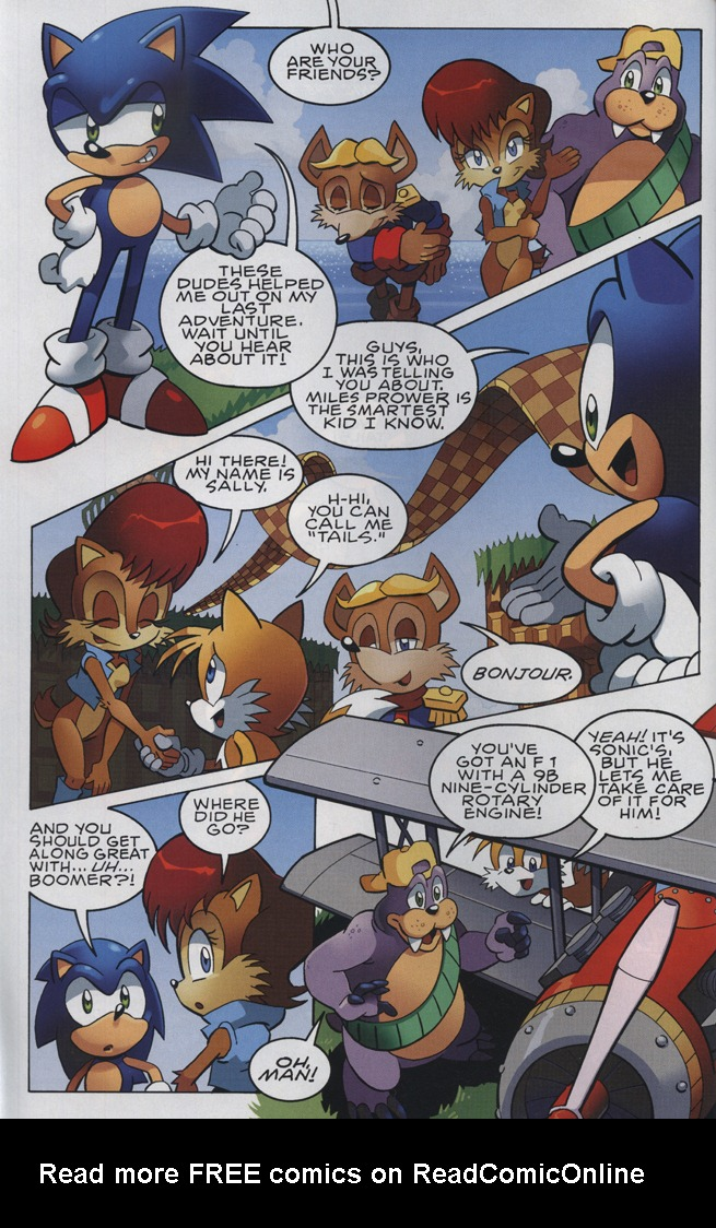 Read online Sonic The Hedgehog comic -  Issue #228 - 4