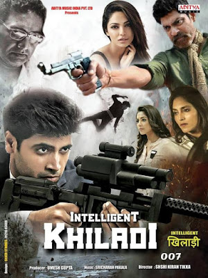 Intelligent Khiladi 007 (2019) Hindi Dubbed 480p HDRip 400MB