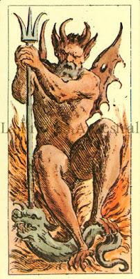 Tarot de Mitelli: El Diablo