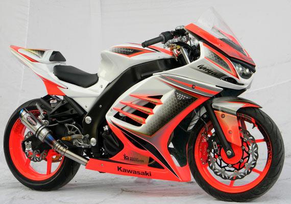 modifikasi cbr 250 cc4  terbaru