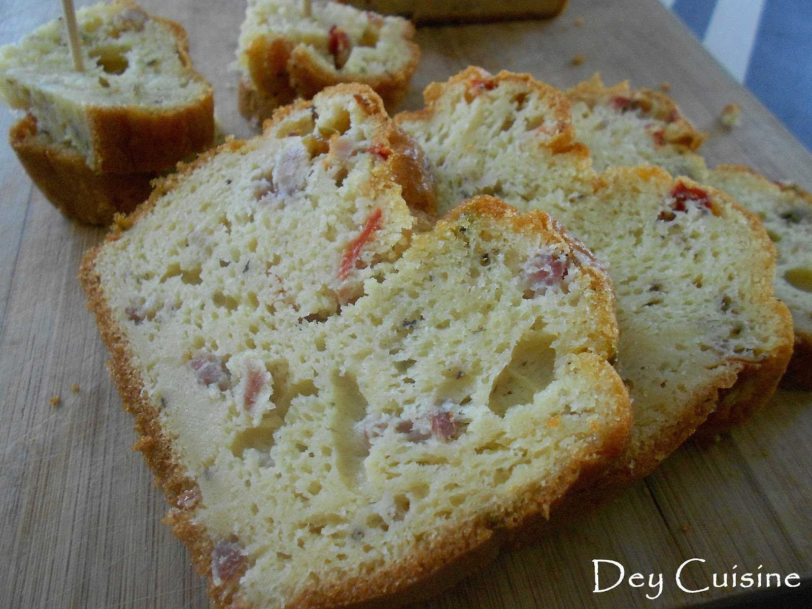 Cake Lardon Poivrons
