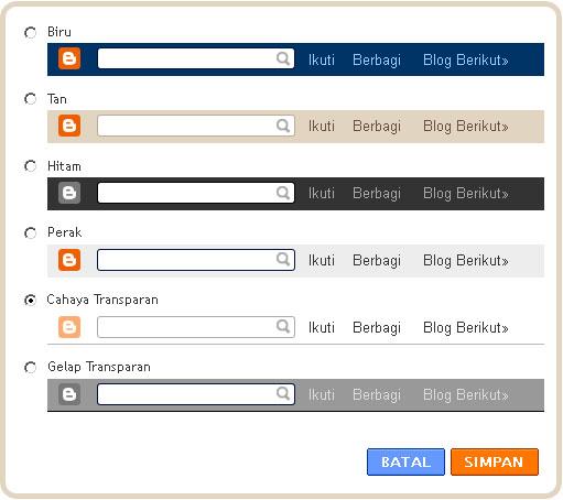 Cara Menampilkan Navbar Blogger Auto Hide