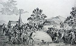 Gambar Jacques Charles - balon pertama