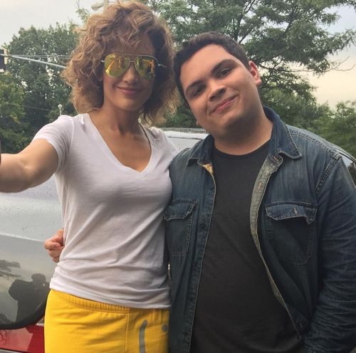 Jennifer Lopez did a young man very happy, as she met with her biggest fan Nick for a Selfie session