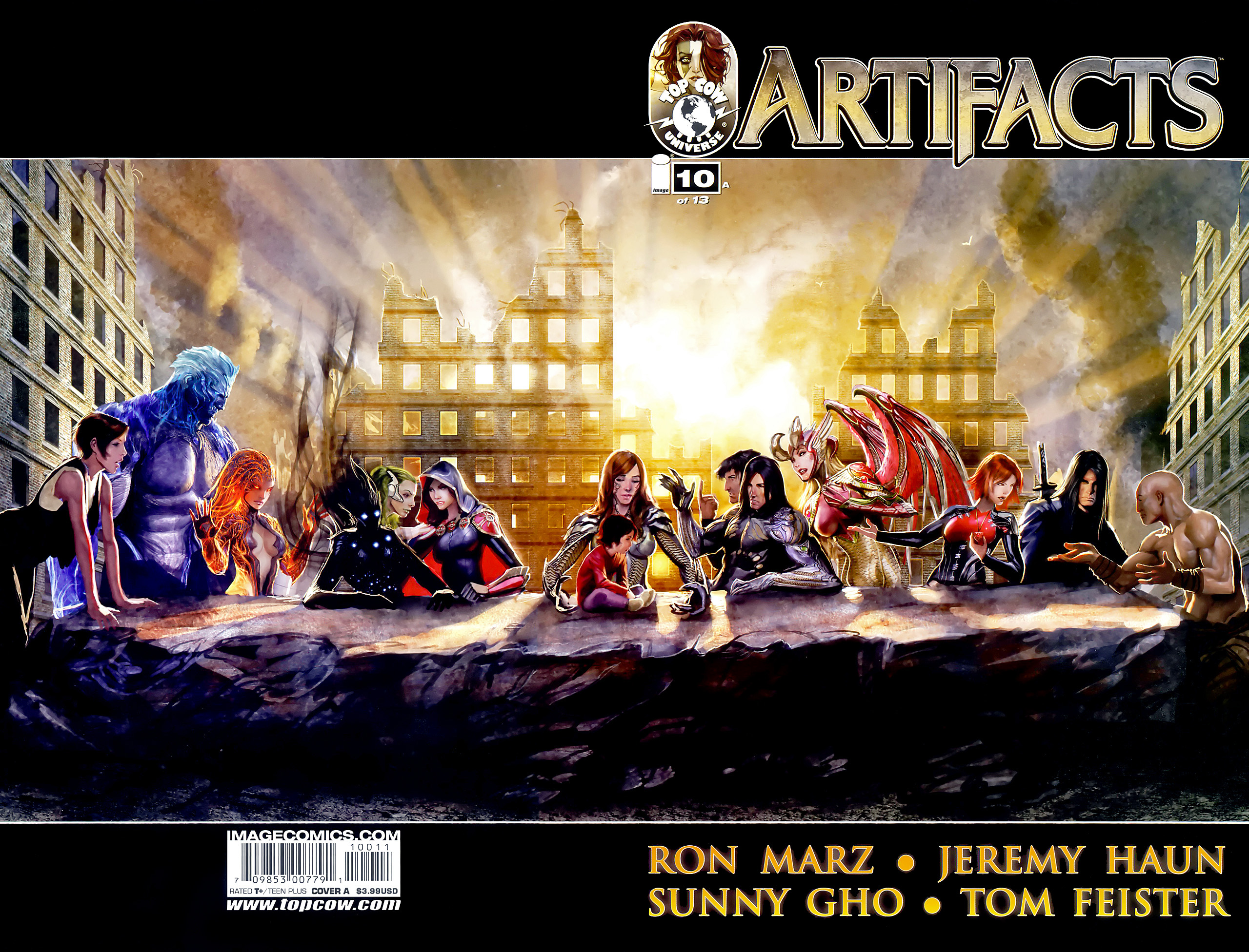 Read online Artifacts comic -  Issue #10 - 1