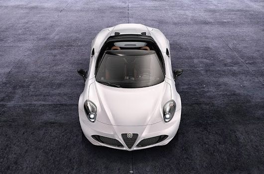 Alfa Romeo 4C Spider Concept 2014 ~ Hottest Cars Today