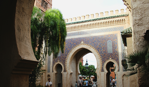 Morocco Pavilion Epcot