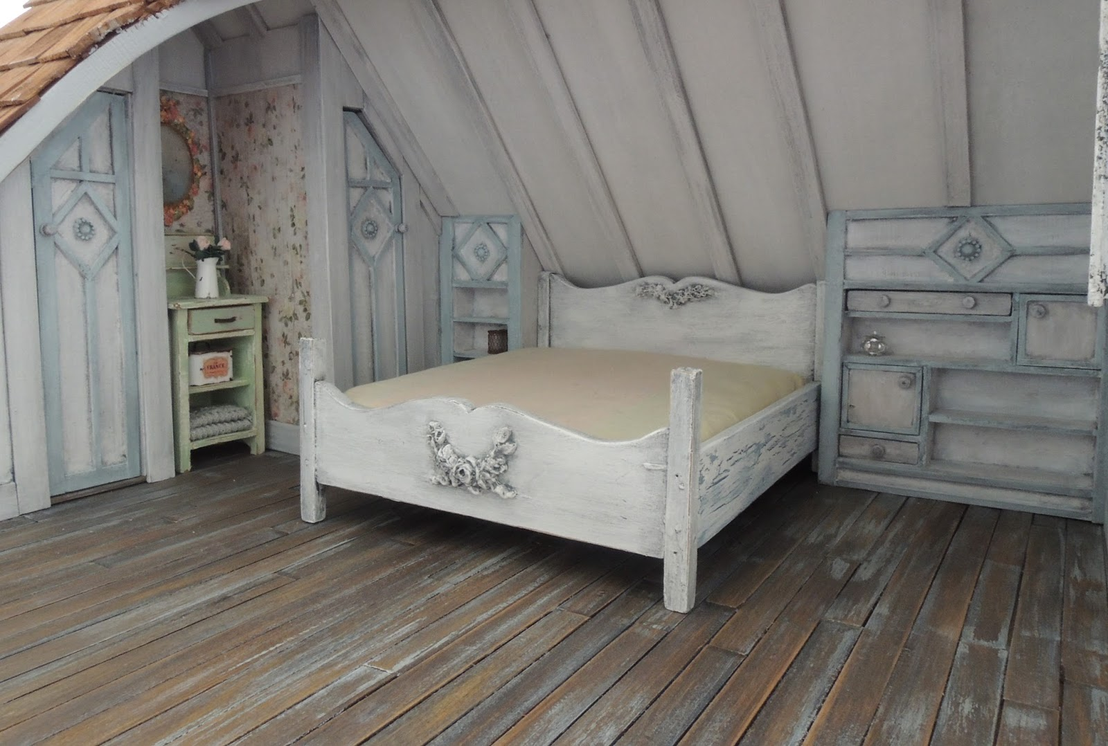 Liberty Biberty The Farmhouse Attic Bedroom