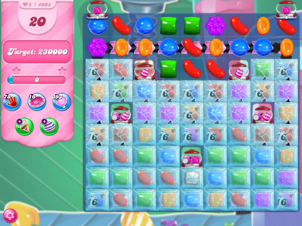 Candy Crush Saga level 4603