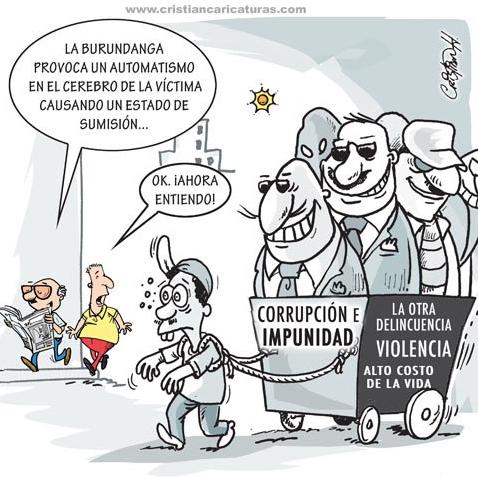 Caricatura: La Burundanga