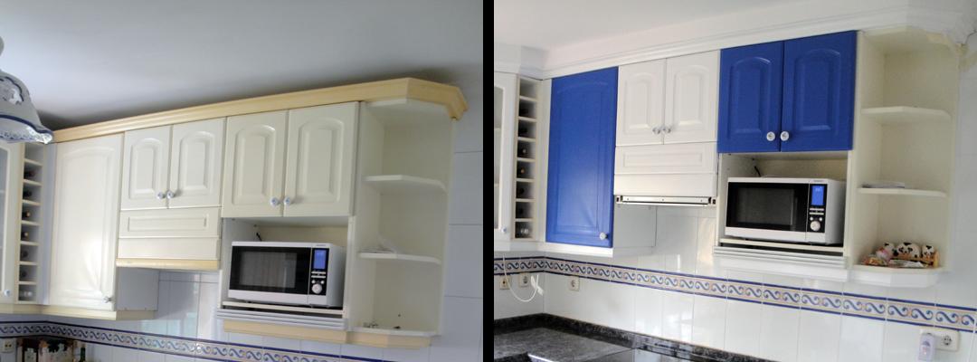 Zoila juan pintar muebles de cocina - Pintar puertas de blanco ...