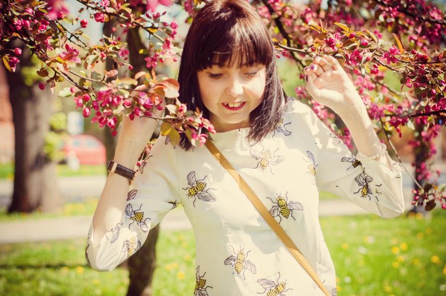 f5d18d6e60a997 Czy u Was też była tak wspaniała pogoda? Ja nie mogę uwierzyć, że nareszcie  ściągnęłam ramoneską i wreszcie można chodzić w wiosenno-letnich sukienkach!