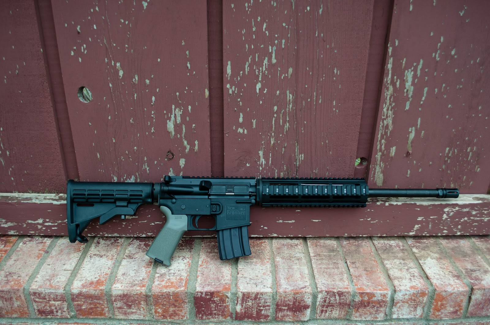 SpartanTC Reviews: New Frontier Armory LW-15 Lower Initial