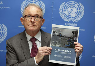 highest number of Afghan civilian deaths