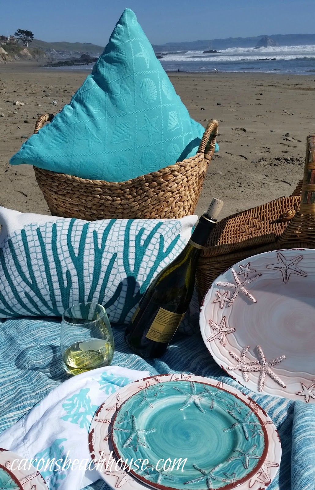 Everything Coastal Beach Picnic Season