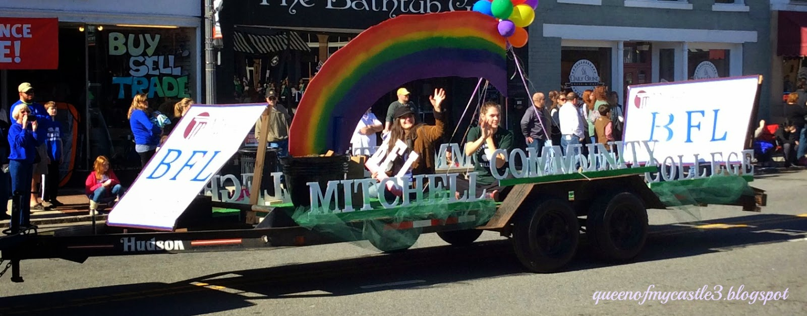 Mitchell College Float