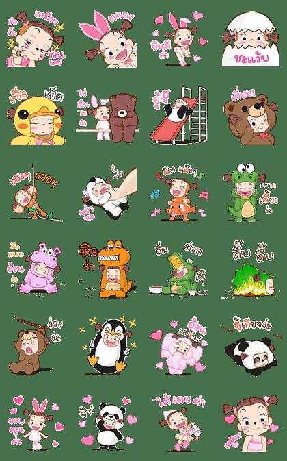 Jumbooka 7: Mascot Festival Stickers