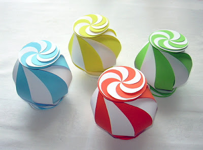 Colorful Origami Paper Box