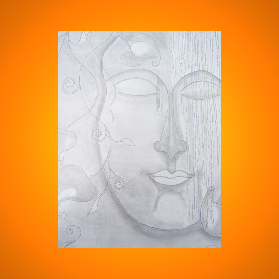 Buddha painting oil painting,acrylic painting,canvas painting work on paper,indian art direct from artist,buy painting,sell painting