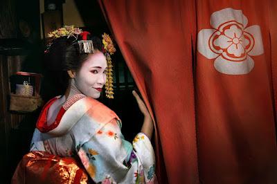 Melihat Geisha Di Distrik Gion Kyoto, Jepang