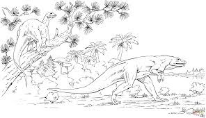 Printable Megalosaurus Coloring Pages