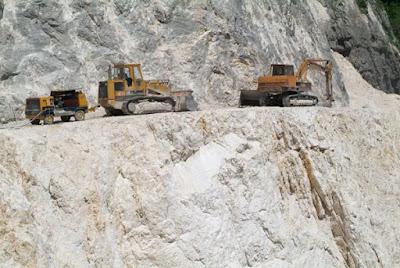 inerte massiccio cava