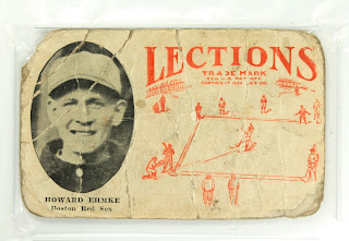 1923 Howard Ehmke Lections baseball card PSA graded