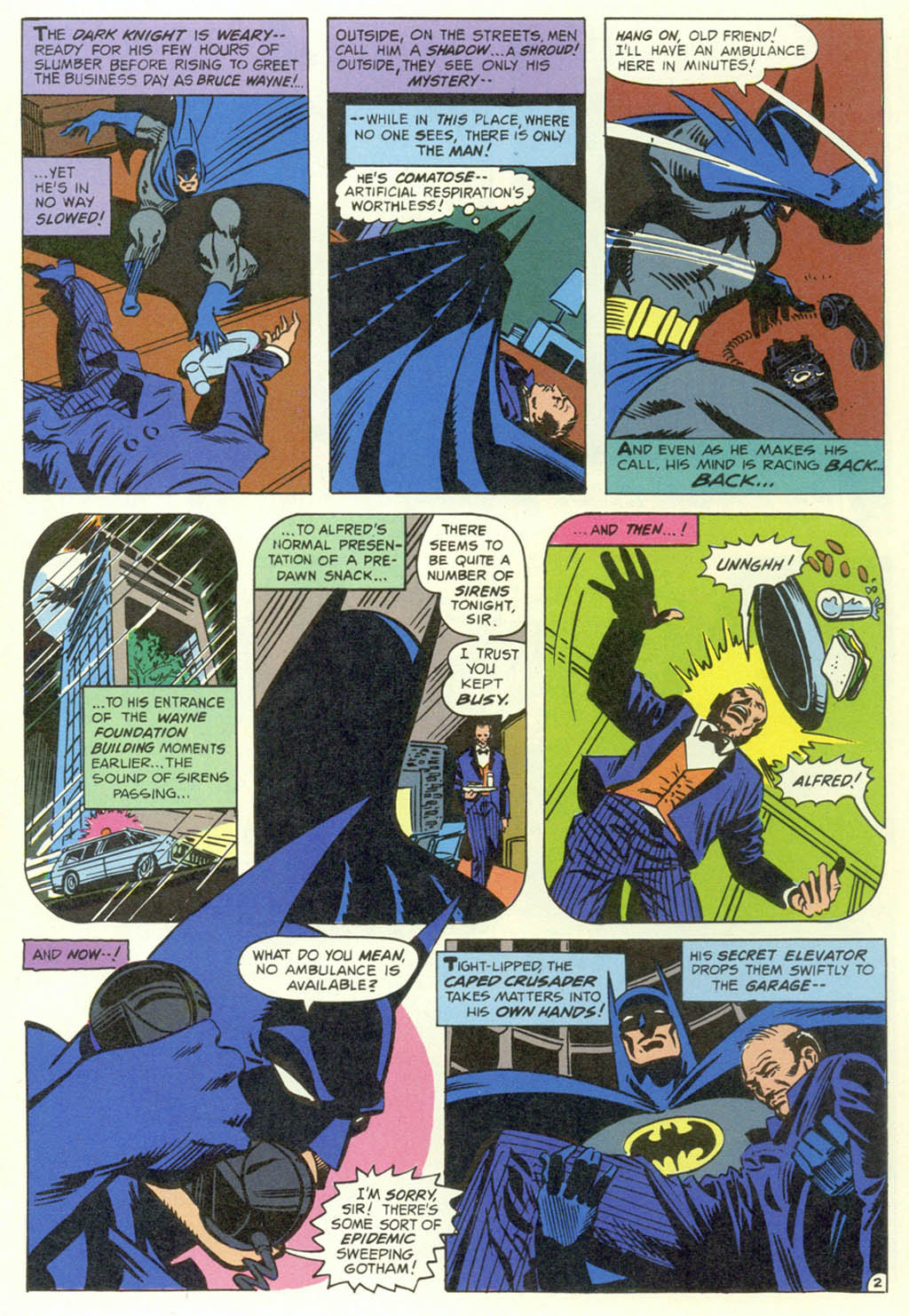 Read online Shadow of the Batman comic -  Issue #1 - 4