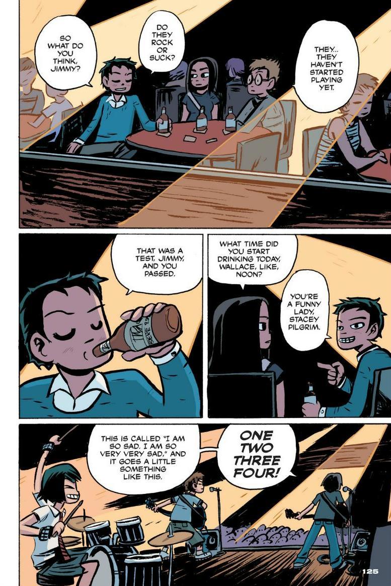 Read online Scott Pilgrim comic -  Issue #1 - 114