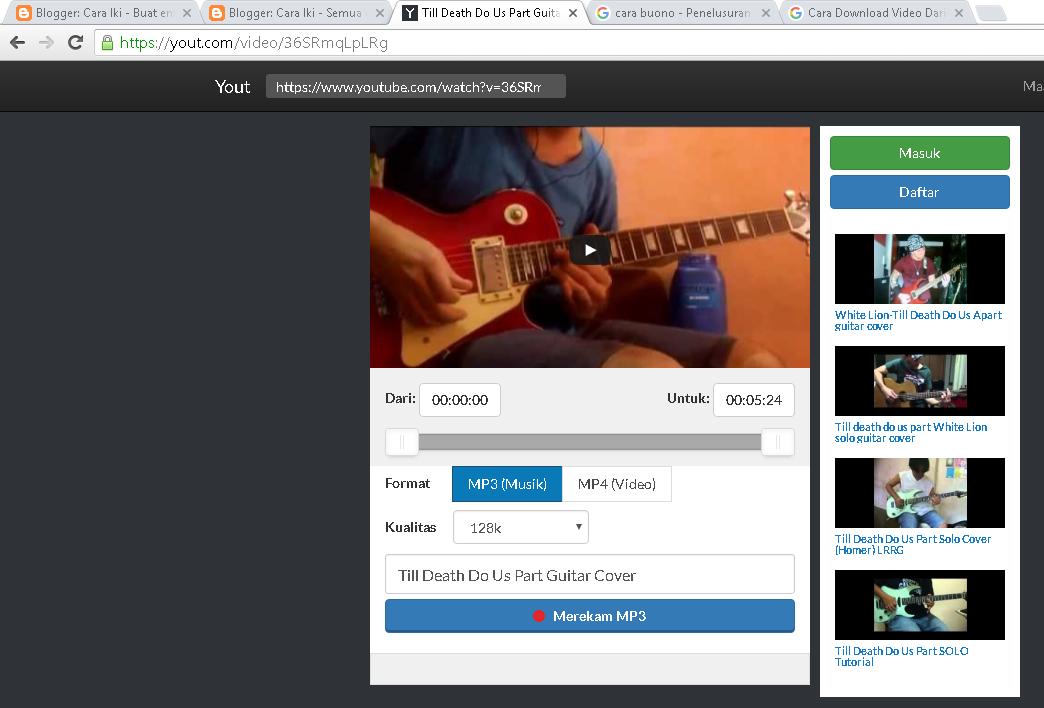 Cara mendownload video dari instagram!!! Youtube.