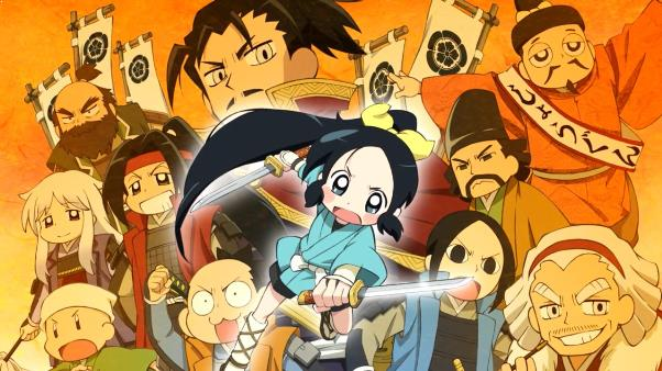 Ninja Girl & Samurai Master - Best Chibi Anime Shows list