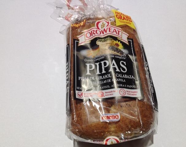 Bocaditos de pan de pipas al queso y ajo