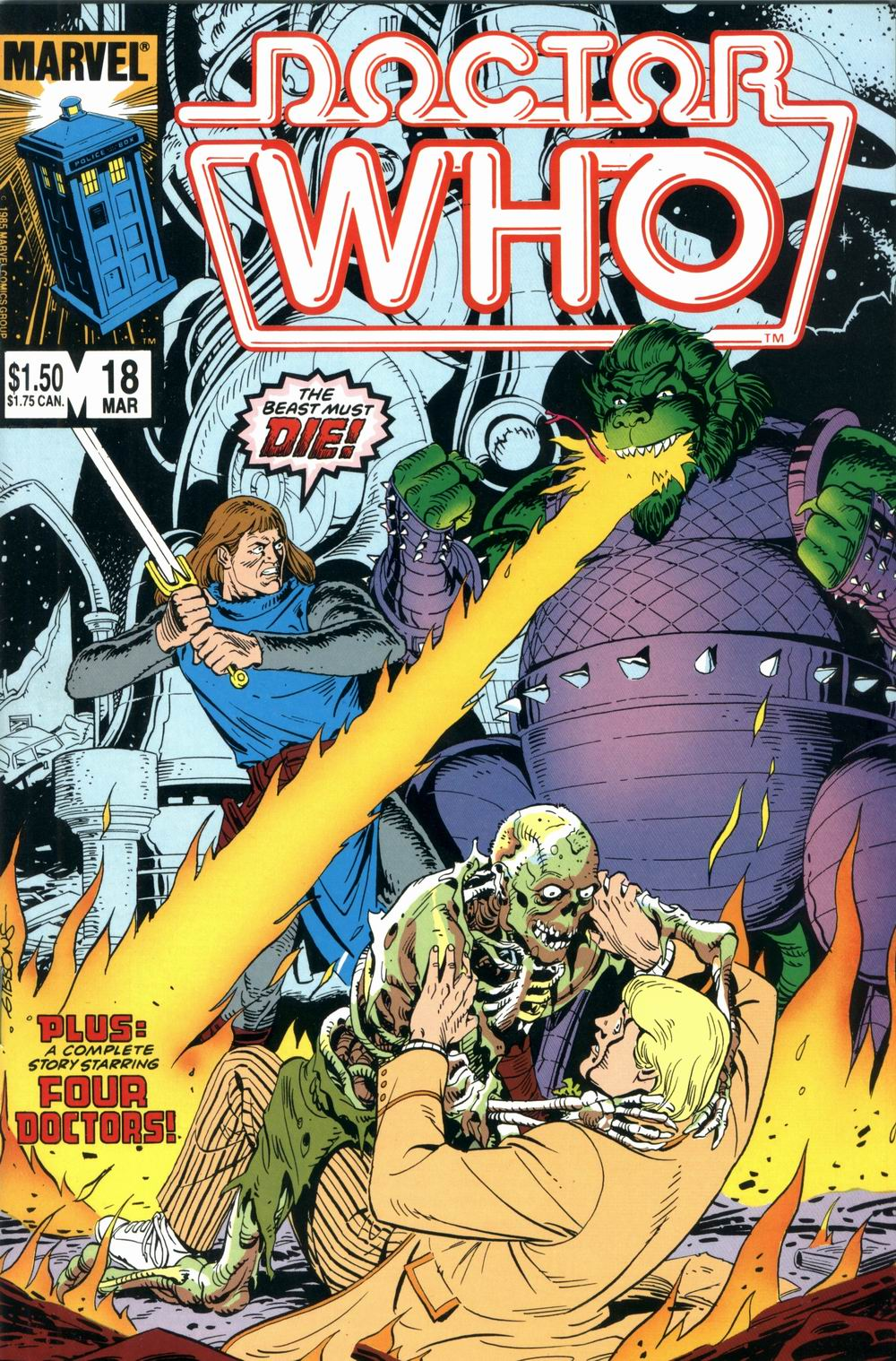 Doctor Who (1984) 18 Page 1