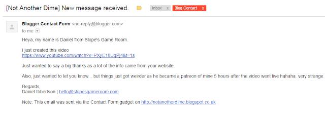 "Blog contact form about Ken ""Whit"" Whitman's Fraudulent Kickstarters"
